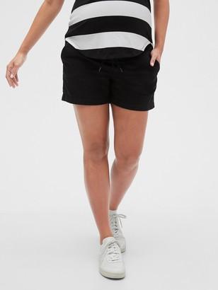 "Gap 5"" Maternity Pull-On Khaki Shorts"