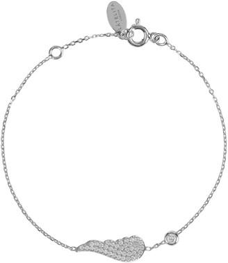 Latelita Small Angel Wing Bracelet Silver