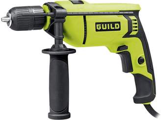 Guild 13mm Keyless High Power Corded Hammer Drill 750W