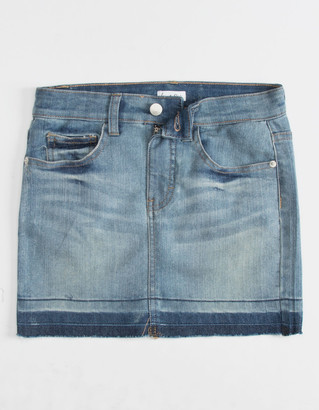 Love, Fire LOVE FIRE Release Girls Denim Skirt