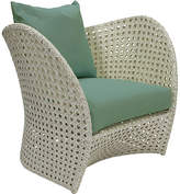 David Francis Furniture South Beach Outdoor Lounge Chair - Green