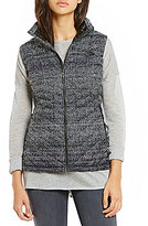 The North Face PrimaLoft® ThermoBallTM Mock Neck Front Zip Printed Vest