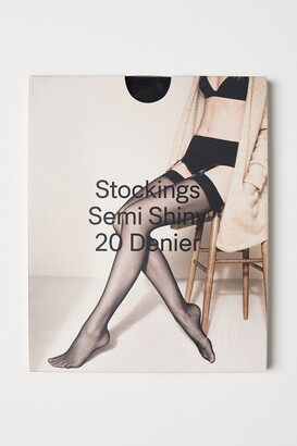 H&M Nylon Stockings 20 Denier