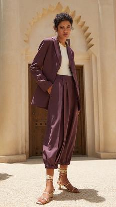 Tibi Tropical Wool Blazer