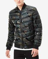 G Star Men's Meefic Quilted Camo Bomber Jacket