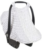 Bebe Au Lait Infant 'Love' Muslin Car Seat Cover