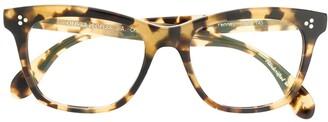 Oliver Peoples Penney tortoiseshell glasses