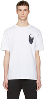 Markus Lupfer White Small Skull Bandana T-shirt