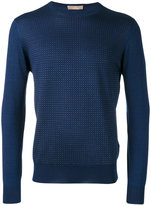 Cruciani knitted sweater - men - Silk/Cashmere - 48