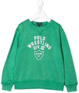 Ralph Lauren Kids Logo-Print Sweatshirt