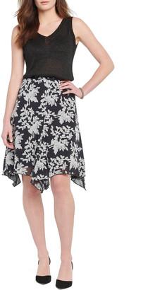 Nic+Zoe Aster A-Line Handkerchief Skirt