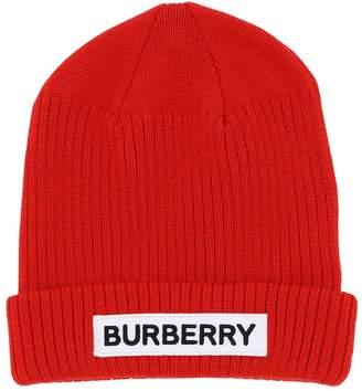 Burberry LOGO MERINO WOOL HAT