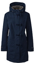 Classic Women's Plus Size Squall Duffle Coat Navy