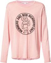 Stella McCartney cat print T-shirt