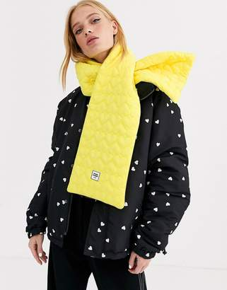 Opening Ceremony quilted scarf-Yellow