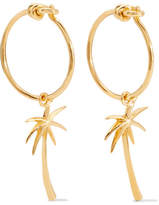 I+I Gold-plated Earrings