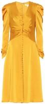 Jonathan Simkhai Crepe-satin midi dress