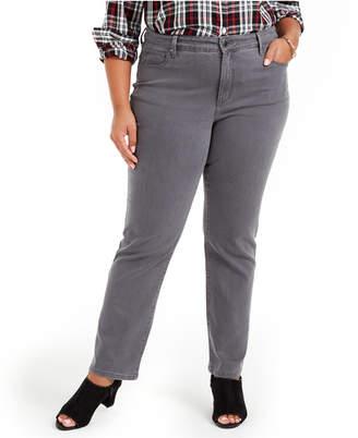 Charter Club Plus Size Lexington Straight-Leg Jeans