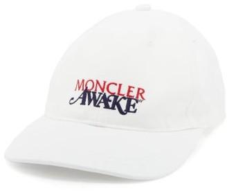 Moncler 2 1952 - X Awake Ny Logo-embroidered Baseball Cap - Mens - White
