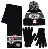 George Star Wars 3 Piece Hat Scarf and Gloves Set