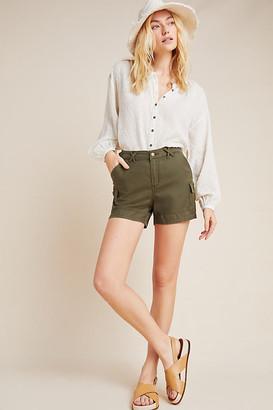 Stitch's Jeans Stephanie Utility Shorts By Stitch's in Green Size S