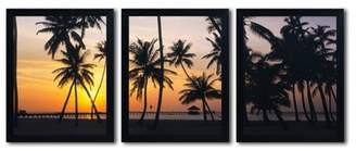 Evans Trademark Global 'Palm Dream' by David Ready to Hang Multi Panel Art Set