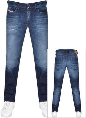 Diesel Thommer 0095R Skinny Fit Jeans Blue