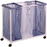 Honey-Can-Do 3-Bag Mesh Laundry Sorter