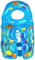 Aqua Leisure Inflatable Fishy Swim vest, detachable collar, adj. buckles Baby