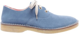 Marc Jacobs Blue Suede Ankle boots