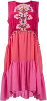 Peter Pilotto sleeveless embroidered dress - women - Silk/Polyester - 6
