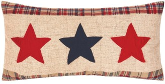 C&F Home Patriotic Star Spangled 12 x 24 Decorative Accent Throw Pillow