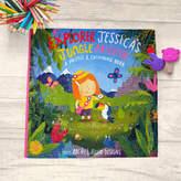 Colour Me Fun Jessica's Jungle Adventure Puzzle And Colouring Book