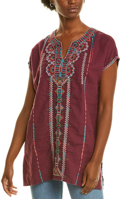 Johnny Was Verena Linen Tunic