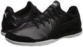 Puma King Pro IT Soccer Shoes Black White) Men's Soccer Shoes