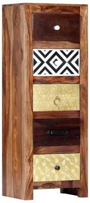 Millwood Pines Zulema 5 Drawer Accent Chest