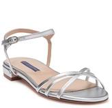 Stuart Weitzman Starla Leather Ankle Strap Sandal