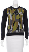 Torn By Ronny Kobo Kendra Camo Sweater w/ Tags