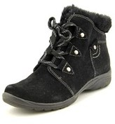 Earth Origins Cooper Women Round Toe Suede Ankle Boot.