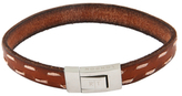 Tateossian Stitch Leather Bracelet