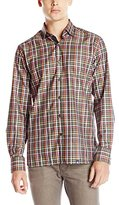 Stone Rose Men's Multi Plaid Long-Sleeve Shirt