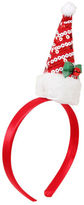 Yours Clothing Yoursclothing Plus Size Womens Sequin Father Christmas Hat Headband Novelty