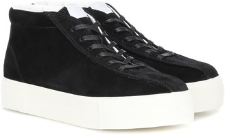 Eytys Mother suede high-top sneakers
