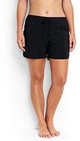 "Classic Women's Plus Size 5"" Board Shorts-Deep Sea"
