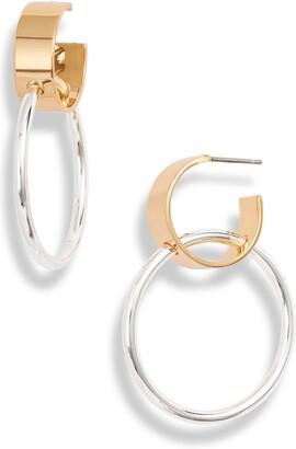 Jenny Bird Imogen Double Hoop Earrings