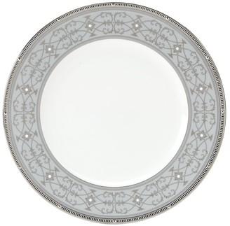 Noritake Rochelle Platinum Accent Plate 9-inches