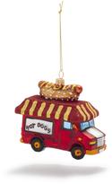 Sur La Table Hotdog Truck Glass Ornament