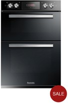 Baumatic BODM984B Built-in Double Oven - Black