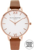 Olivia Burton Big White Dial Watch