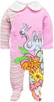 Dr. Seuss Horton Flowers Infant Footed Pajamas